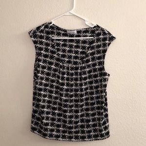 Calvin Klein sleeveless blouse Ladies size L